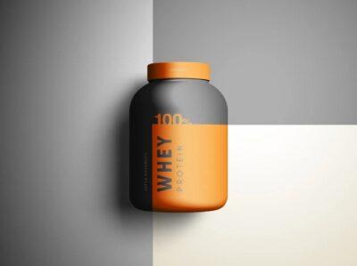 Branding Product Jar PSD Mockup
