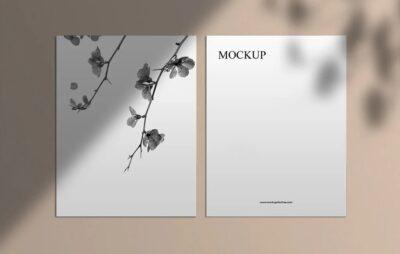 Free Corporate Office Card PSD Mockup