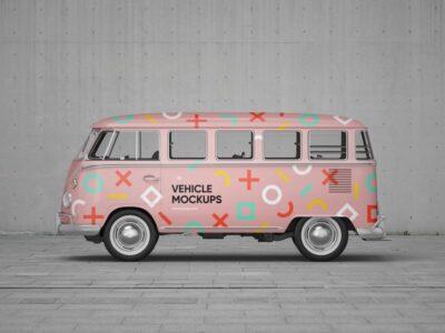 Premium Vehicle PSD Mockup