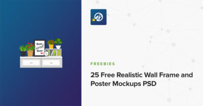 25 Wall Frame and Poster PSD Mockup