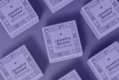 Free Jewelry Small Box Mockup
