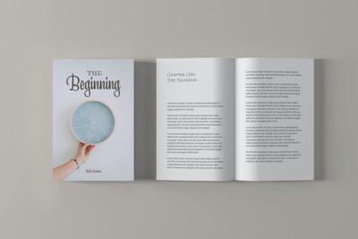 Branded Book Cover Mockup
