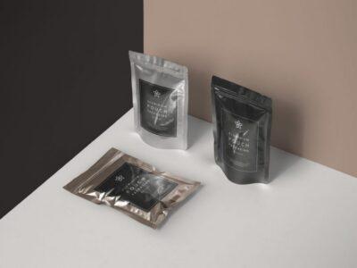 Meta Foil Packaging PSD Mockup