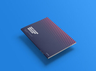 Free Soft Book Cover Mockup