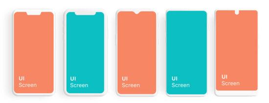 Free UI Screen Phone Mockup