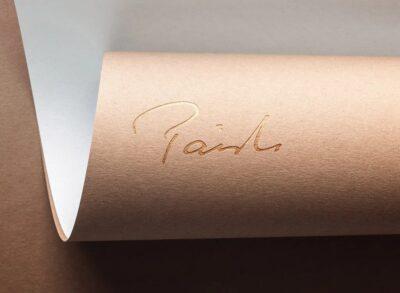 Free Company Design PSD Logo