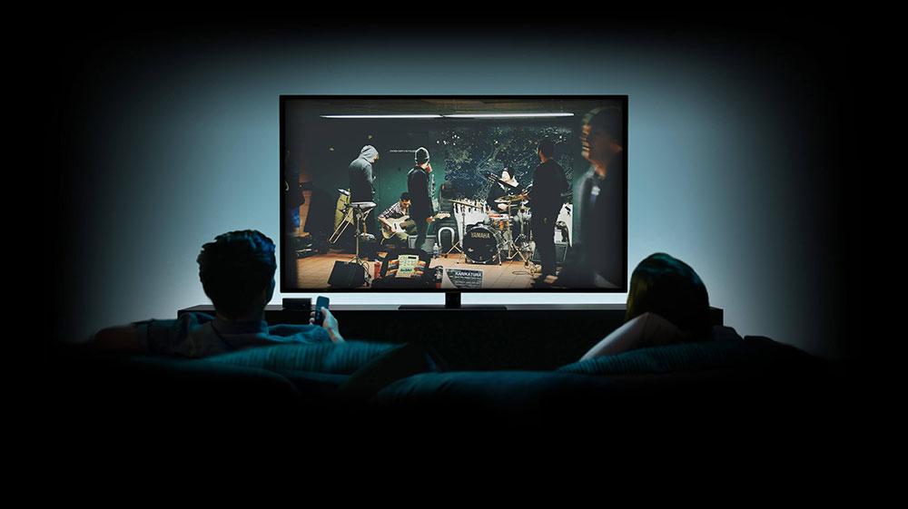 Free HD Apple TV PSD Mockup