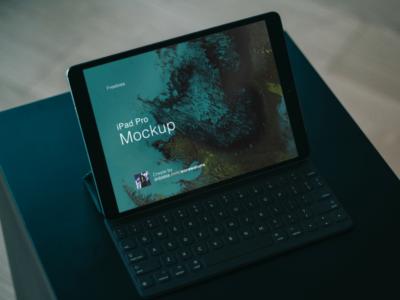 Apple iPad Pro PSD Mockup