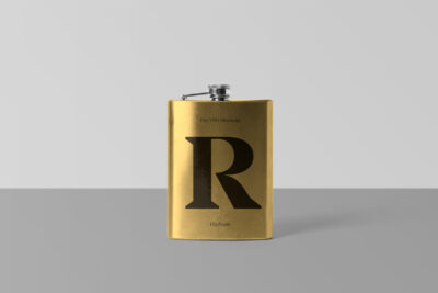 Alcohol Drinking Flask PSD Mockups