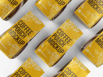 Free Coffee Packaging Product Mockup
