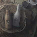 Free Milk Bottle PSD Mockup