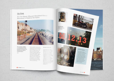 Realistic Magazine PSD Mockup