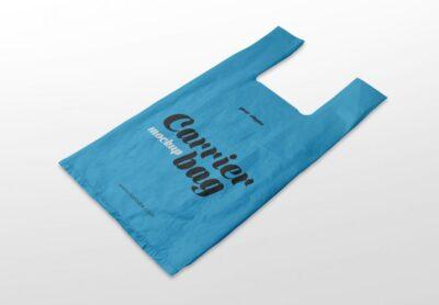 Free Plastic Carrier Bag Mockups