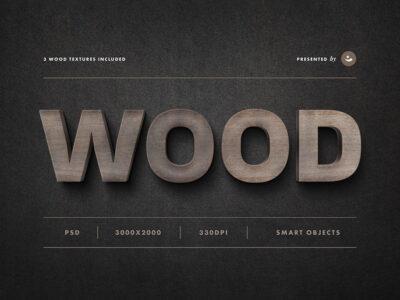 Best Wood Sign Text Mockup