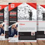 Free Business Flyer Stationery PSD Mockup