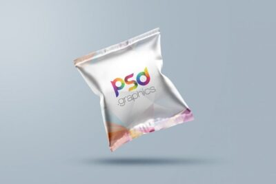 Free Food Package PSD Mockup