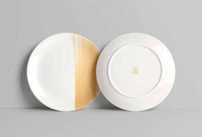 Free Dinning Plate PSD Mockup