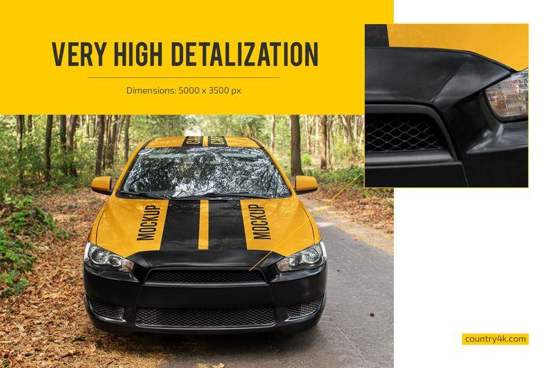 Best High-Resolution Car Mockup