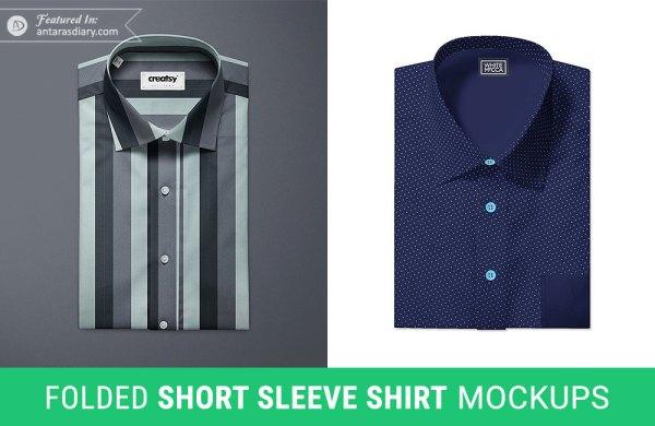 Free Formal Shirt Design Mockup
